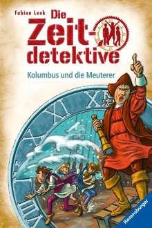Fabian Lenk: Die Zeitdetektive, Band 39: Kolumbus und die Meuterer, Buch