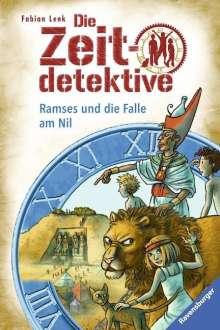 Fabian Lenk: Die Zeitdetektive 38: Ramses und die Falle am Nil, Buch