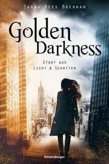 Sarah Rees Brennan: Golden Darkness. Stadt aus Licht & Schatten, Buch