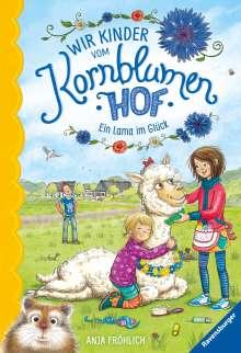 Anja Fröhlich: Wir Kinder vom Kornblumenhof, Band 6: Ein Lama im Glück, Buch
