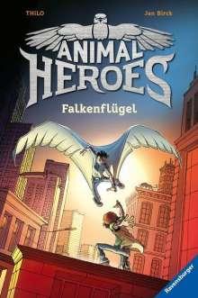 Thilo: Animal Heroes, Band 1: Falkenflügel, Buch