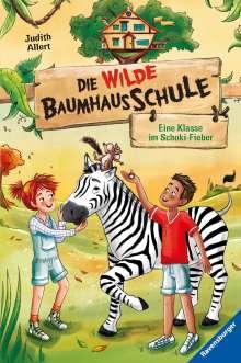 Judith Allert: Die wilde Baumhausschule, Band 4: Eine Klasse im Schoki-Fieber, Buch