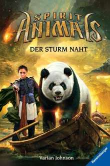 Varian Johnson: Spirit Animals, Band 10: Der Sturm naht, Buch