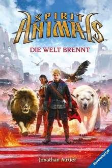 Jonathan Auxier: Spirit Animals, Band 11: Die Welt brennt, Buch