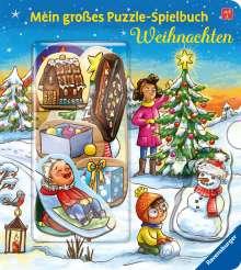 Bookella Bookella: Mein großes Puzzle-Spielbuch: Weihnachten, Buch