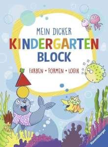 Britta Zimmermann: Mein dicker Kindergartenblock, Buch
