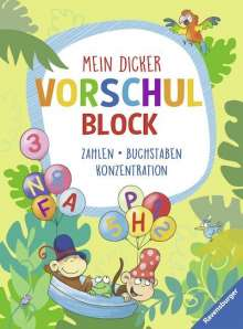 Stefan Lohr: Mein dicker Vorschulblock, Buch