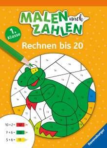 Martine Richter: Malen nach Zahlen, 1. Klasse: Rechnen bis 20, Buch