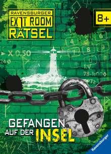 Ute Löwenberg: Ravensburger Exit Room Rätsel: Gefangen auf der Insel, Buch