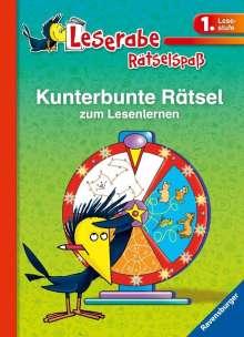 Lena Hofmann: Leserabe: Kunterbunte Rätsel zum Lesenlernen (1. Lesestufe), Buch