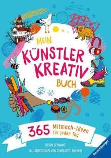 Susan Schwake: Mein Künstler-Kreativbuch, Buch