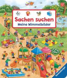 Susanne Gernhäuser: Sachen suchen: Meine Wimmelbilder, Buch