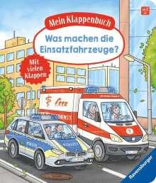 Susanne Gernhäuser: Mein Klappenbuch: Was machen die Einsatzfahrzeuge?, Buch