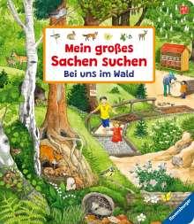 Susanne Gernhäuser: Mein großes Sachen suchen: Bei uns im Wald, Buch