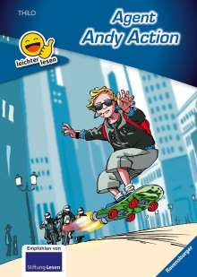 Thilo: Agent Andy Action, Buch
