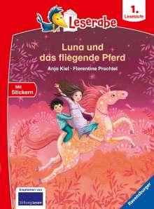 Anja Kiel: Leserabe - 1. Lesestufe: Luna und das fliegende Pferd, Buch