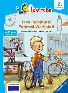 Sven Gerhardt: Flos fabelhafte Fahrrad-Werkstatt - Leserabe ab 2. Klasse - Erstlesebuch für Kinder ab 7 Jahren, Buch