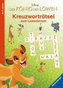 Disney Der König der Löwen: Kreuzworträtsel zum Lesenlernen, Buch