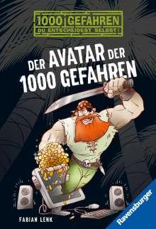 Fabian Lenk: Der Avatar der 1000 Gefahren, Buch
