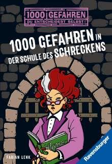 Fabian Lenk: 1000 Gefahren in der Schule des Schreckens, Buch