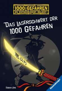 Fabian Lenk: Das Laserschwert der 1000 Gefahren, Buch