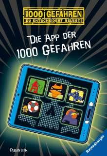 Fabian Lenk: Die App der 1000 Gefahren, Buch