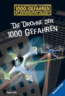 Fabian Lenk: Die Drohne der 1000 Gefahren, Buch