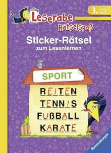 Lena Merk: Sticker-Rätsel zum Lesenlernen (3. Lesestufe), Buch