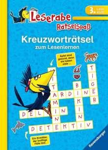 Martine Richter: Kreuzworträtsel zum Lesenlernen (3. Lesestufe), Buch