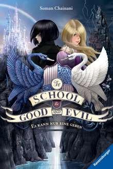 Soman Chainani: The School for Good and Evil, Band 1: Es kann nur eine geben, Buch