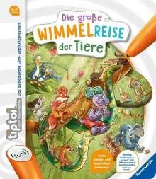 Anja Kiel: tiptoi® Die große Wimmelreise der Tiere, Buch