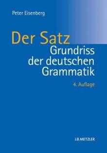 Peter Eisenberg: Grundriss der deutschen Grammatik, Buch