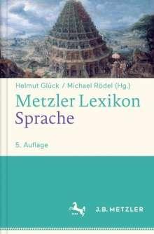 Metzler Lexikon Sprache, Buch