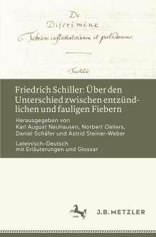 Friedrich Schiller: Über den Unterschied zwischen entzündlichen und fauligen Fiebern, Buch