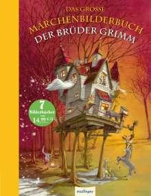 Brüder Grimm: Das große Märchenbilderbuch der Brüder Grimm, Buch