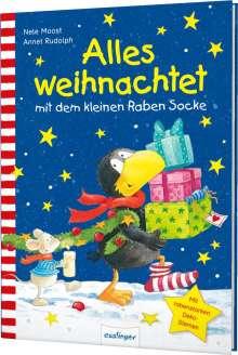 Nele Moost: Der kleine Rabe Socke: Alles weihnachtet mit dem kleinen Raben Socke, Buch