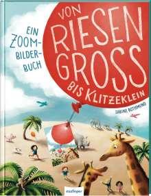 Julia Klee: Von riesengroß bis klitzeklein, Buch