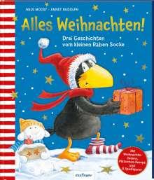 Nele Moost: Der kleine Rabe Socke: Alles Weihnachten!, Buch