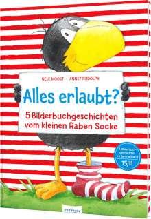 Nele Moost: Der kleine Rabe Socke: Alles erlaubt?, Buch
