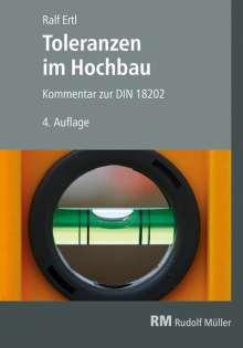 Ralf Ertl: Toleranzen im Hochbau, Buch
