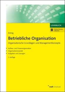 Thomas Breisig: Betriebliche Organisation, 1 Buch und 1 Diverse