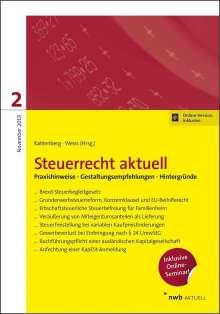 Iring Christopeit: Steuerrecht aktuell 2/2019, 1 Buch und 1 Diverse