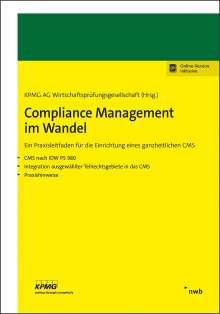 Verena Brandt: Compliance Management im Wandel, 1 Buch und 1 Diverse