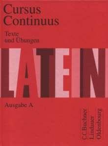 Dieter Belde: Cursus Continuus A. Texte und Übungen, Buch