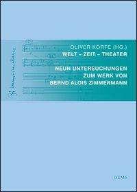 Welt - Zeit - Theater, Buch