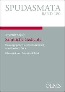 Johannes Kepler: Johannes Kepler - Sämtliche Gedichte, Buch