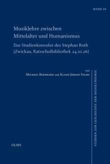 Michael Bernhard: Musiklehre zwischen Mittelalter und Humanismus, Buch