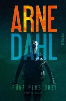 Arne Dahl: Fünf plus drei, Buch