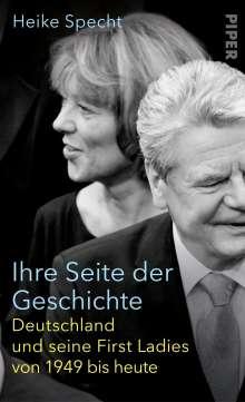 Heike Specht: Ihre Seite der Geschichte, Buch