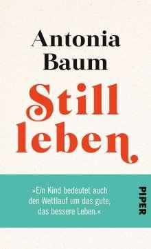 Antonia Baum: Stillleben, Buch